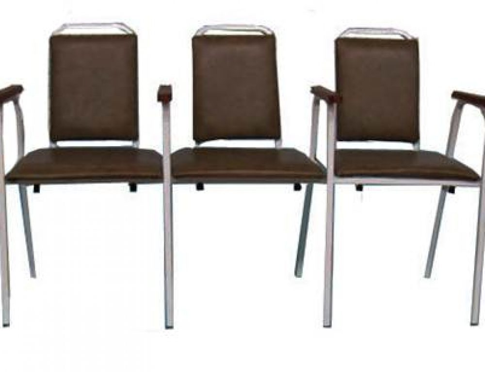 Скамейка трехсекционная