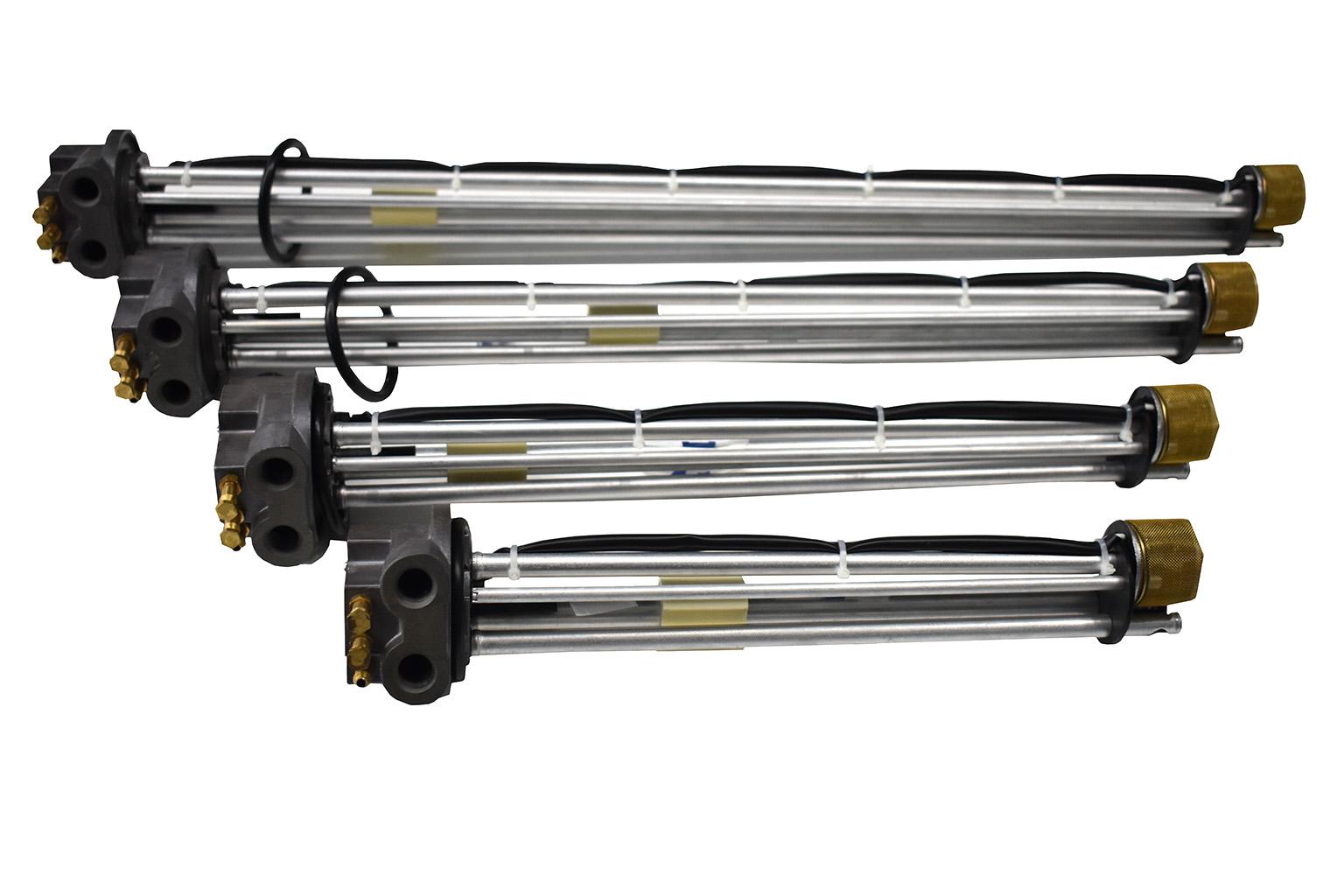 Датчик уровня комбинированный  с электроподогревателем топлива ДУКЭП-90-24/0,2 (Единый топливозаборник)