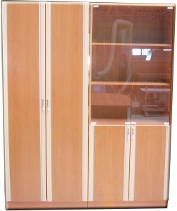 Шкафы для книг и одежды КЭМЗ