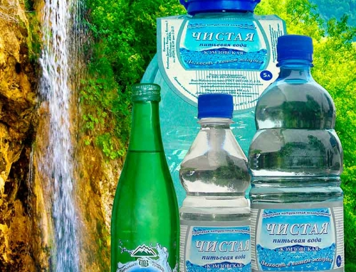 Вода питьевая лечебно-столовая «ЧИСТАЯ»