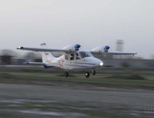 Первый вылет самолёт МАИ-411